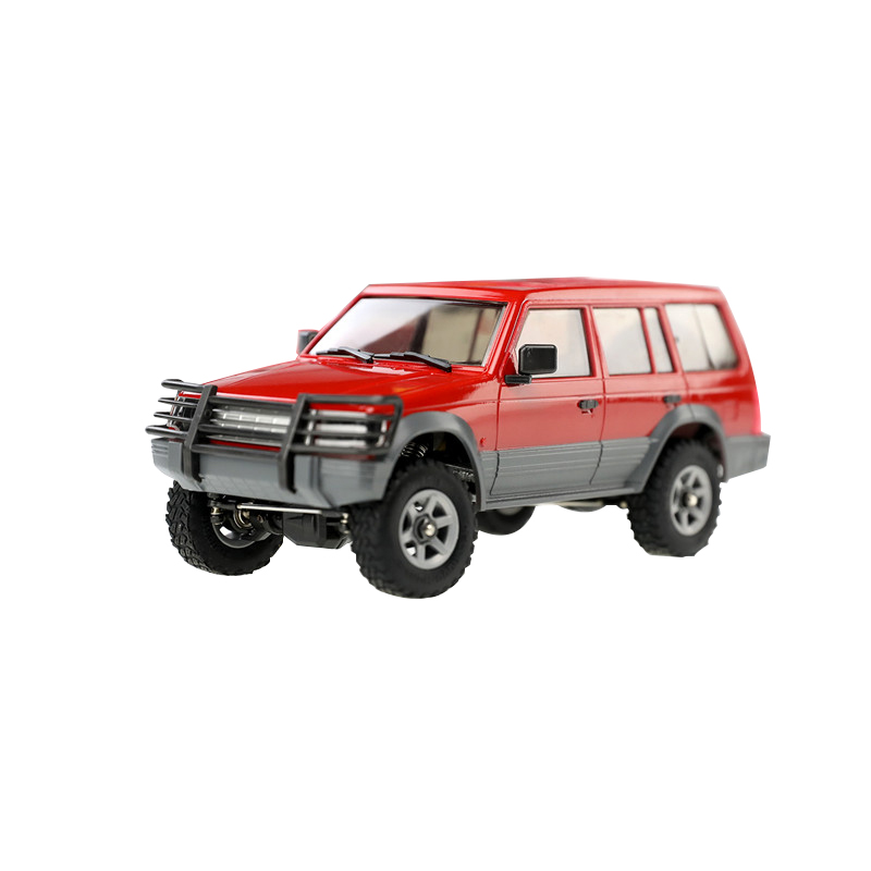 Orlandoo-Hunter 1/32 4WD DIY Assembly Car Kit RC Rock Crawler OH32A02 Red With Electronic Parts 300rpm Brushed Motor Kids Toy
