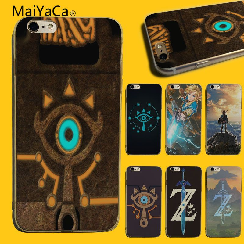 MaiYaCa The Legend Of Zelda Coque Shell Phone Case For Apple iphone 5 5s 5c SE