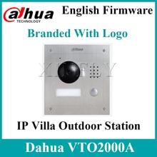 Dahua VTO2000A  S1 IP וילה חיצוני תחנת 1.3MP וידאו דלת טלפון מרחוק אינטרקום עם נייד APP עבור VTH1550CH S2With לוגו