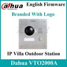 Dahua VTO2000A  S1 ip villa ao ar livre estação 1.3mp vídeo porteiro remoto telefone da porta com aplicativo móvel para VTH1550CH S2With logotipo