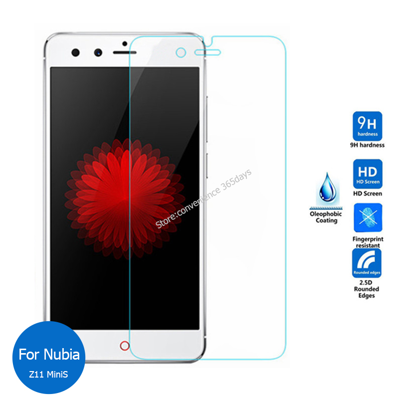 2PCS For <font><b>Zte</b></font> <font><b>Nubia</b></font> Z11 <font><b>MiniS</b></font> Tempered Glass Screen Protector 9h Safety Protective Film on <font><b>Z</b></font> <font><b>11</b></font> <font><b>Mini</b></font> <font><b>S</b></font> NX549J image