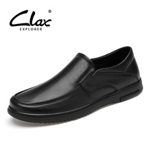CLAX Man Shoes 2019 Spring Summer Mens Dress Shoe Genuine Leather Male Formal Wedding Footwear Soft