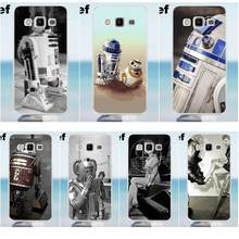 Suef Vintage R2d2 Robot Zachte Print Capa Voor Galaxy Alpha Core Prime Note 2 3 4 5 S3 S4 S5 S6 S7 S8 mini rand Plus(China)
