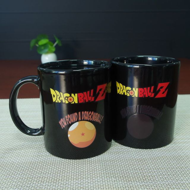 Dragon Ball Z Color Changing Magic Mug
