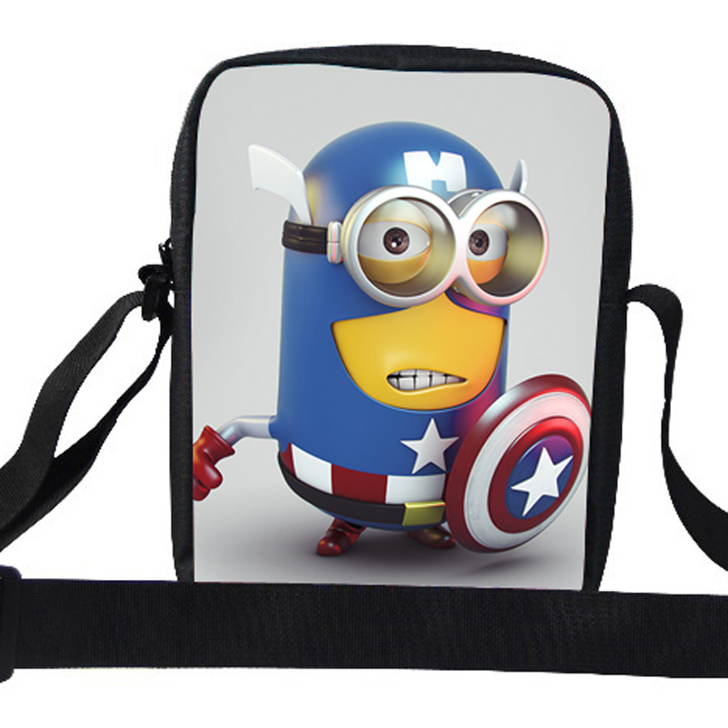 763e87316f81 2015 Fashionable Minions Bags Despicable Me Messenger Bag For Kids School  Teenagers Shoulder Bag For Girls Boys Kindergarten on Aliexpress.com