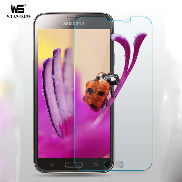 For Samsung Galaxy S5 Tempered Glass Thin HD Clear Screen Protector Film  I9600 Tempered glass on for samsung s5 glass-in Phone Screen Protectors  from