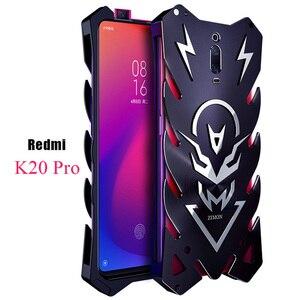 Image 1 - Xiomi Redmi K20 Pro Mi 9T Zimon luxe nouveau Thor robuste armure métal aluminium étui de téléphone pour Xiaomi Redmi K20 Pro K20 étui
