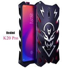 Xiomi redmi k20 pro mi 9t, luxo, thor, armadura de metal resistente, de alumínio capa redmi k20 pro k20