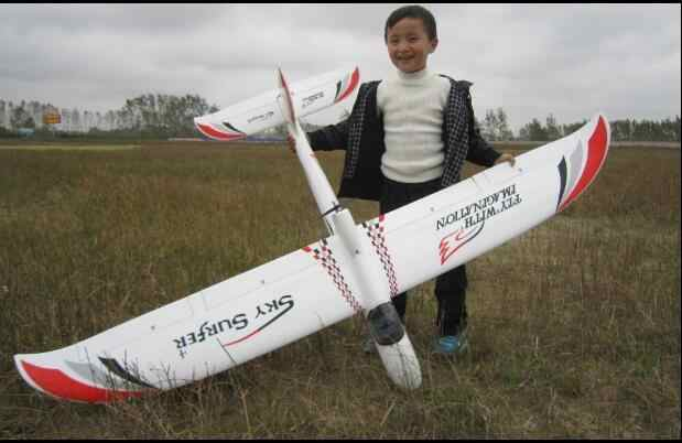 2000mm 2M wingspan SkySurfer rc glider trainer airplane KIT