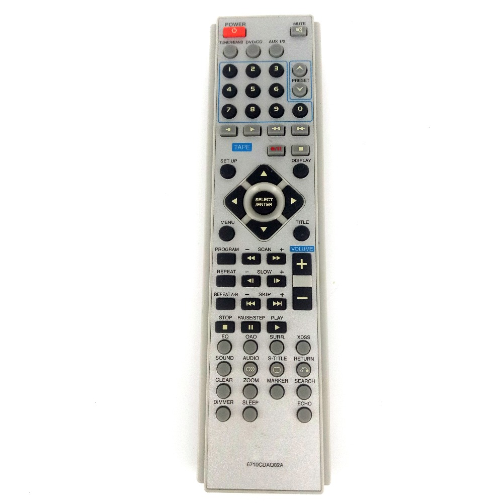 Usado Original 6710CDAQ02A Para LG Casa sistema De Áudio Controle Remoto