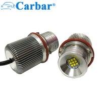 Ultra Bright Bulb 45W E39 Error Free LED Angel Eyes Halo Ring Marker Bulbs For BMW 1 5 6 7 Series E39 E53 E60 E63 E65 E66