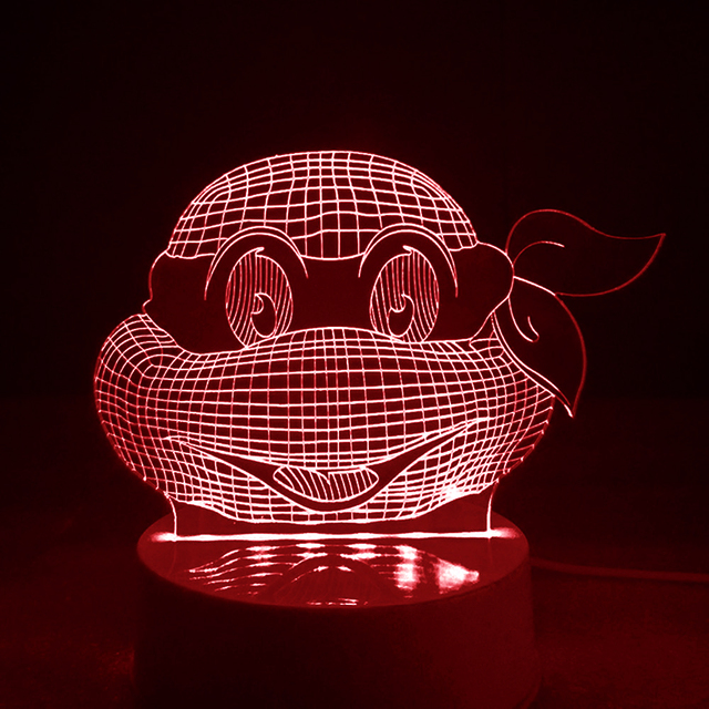 Teenage Mutant Ninja 3D Night lamp