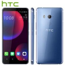 Получить скидку Глобальная версия htc U11 глаза 4 г LTE мобильный телефон 6,0 «4 ГБ Оперативная память 64 ГБ Встроенная память Android 8,0 snapdragon 652 Octa Core IP67 Водонепроницаемый телефон