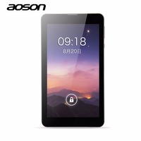 Tablets 7 Inch Tablets Android5 1 Aoson M701FD 4G LTE Phone Call Tablet PC MTK8735 Quad
