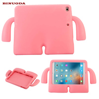 Shockproof Kids Case For iPad Air 2 Tablet Lovely 3D Cartoon EVA Foam Boys Girls Drop Proof Case Cover for iPad Air2 iPad 6