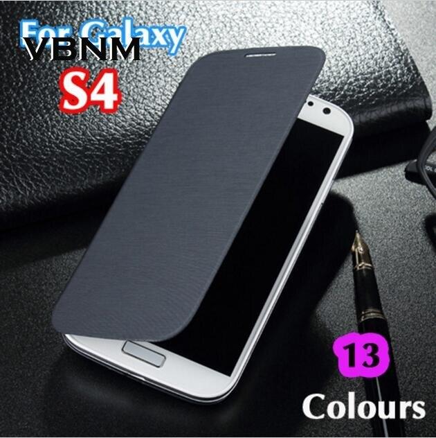 Тонкий Shell оригинальный Батарея кожа флип задняя крышка чехол рукава сумка для Samsung Galaxy <font><b>S4</b></font> I9500 I9505