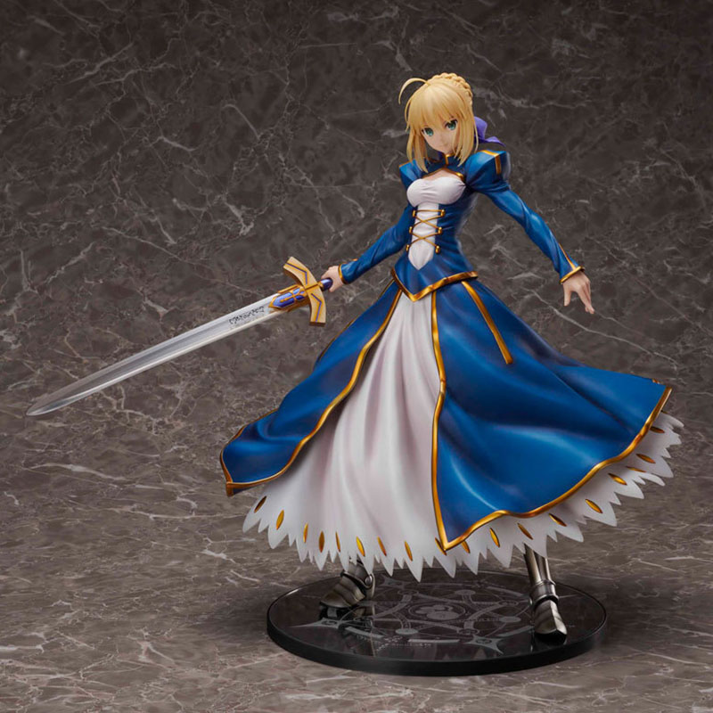 Fate Grand Order Saber Big Size Ver Action Figure 1 4 scale painted figure Altria Pendragon