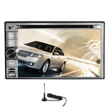 Radio Capacitive 4-CORE OBD2 CD Receiver Android 5.1 Car DVD Video USB GPS Stereo Navigation FM WiFi Audio Digital TV