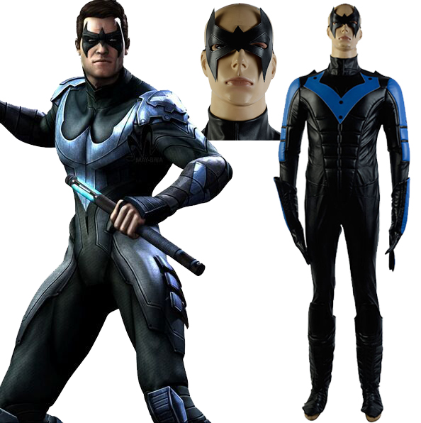 Teen night wing bat costume