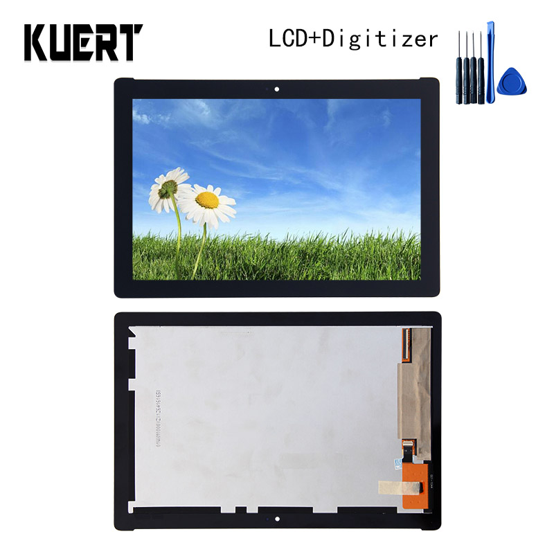 For ASUS ZenPad pad 10 Z300C Z300M P00C LCD Display Touch Screen Digitizer  Glass LCD Display Assembly + Tools