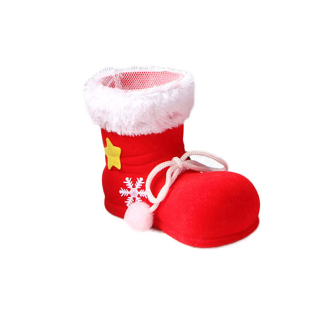 Red Boots Exquisite Design Popular High Quality Newest Candy Boots Socks