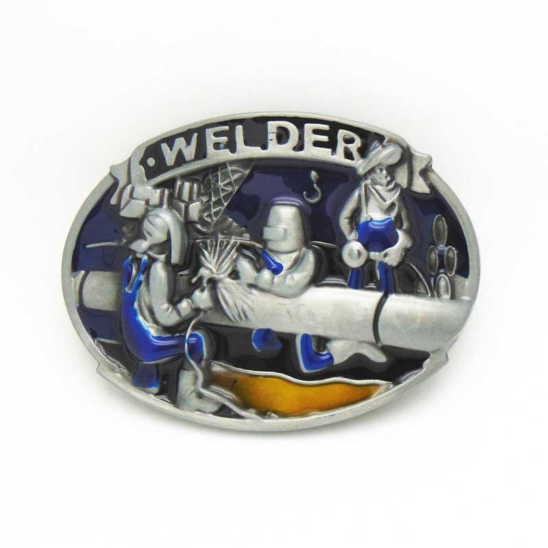 T Disom Welder Belt Buckle Cool Design Mens