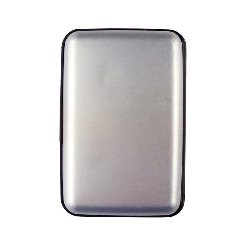 Fashion Hot Sale Unisex Mens Waterproof Business ID Credit Card Wallet Plastic Pocket Case card holder best gift