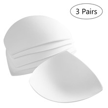 d1ace8a087 3 Pair Womens Removable Smart Cups Bra Inserts Pads For Swimwear Sports( China)