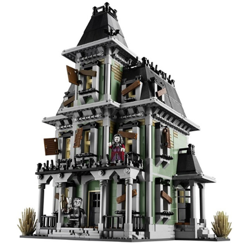 LEPIN 16007 Soul Movie Series Haunted House Vampire Church 10228 Building Blocks 2141pcs Bricks Toys Gift For Children lepin 16007 2141pcs monster fighter the haunted house model set building kits model compatible with 10228 educational toys gifts