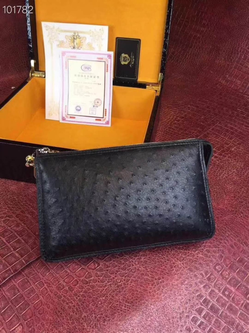 цены 100% Genuine ostrich skin leather long size men wallets and purse bank credit card holder black brown ostrich leather men wallet