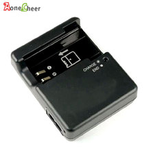 Aonecheer câmera carregador de bateria para nikon d3000 d5000 d8000 d60 d40 d40x EN EL9 EN EL9a lithunm íon carregador de bateria eua/ue plug