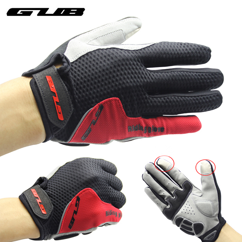 GUB 2025 Touch Screen Full Finger Cycling Gloves Unisex Outdoor Sports Riding Bike Bicycle Gloves Winter Warm Gloves