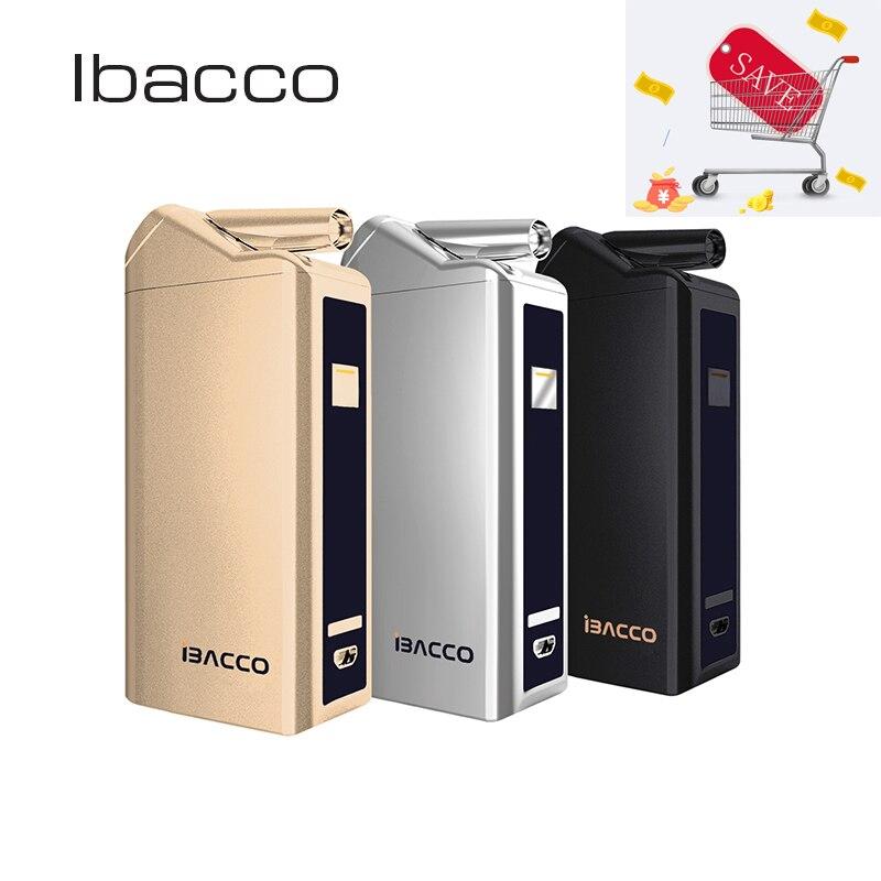 Ibacco Kit Chaleur Pas Feu Vaporisateur cigarette électronique Mod Boîte Vaporisateur Pour Chauffage Tabac 5 Intelligente De Travail Modes