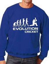 Evolution Of Cricket Sport Sweatshirt Jumper Mens Ladies Birthday Gift More Size and Color-E223