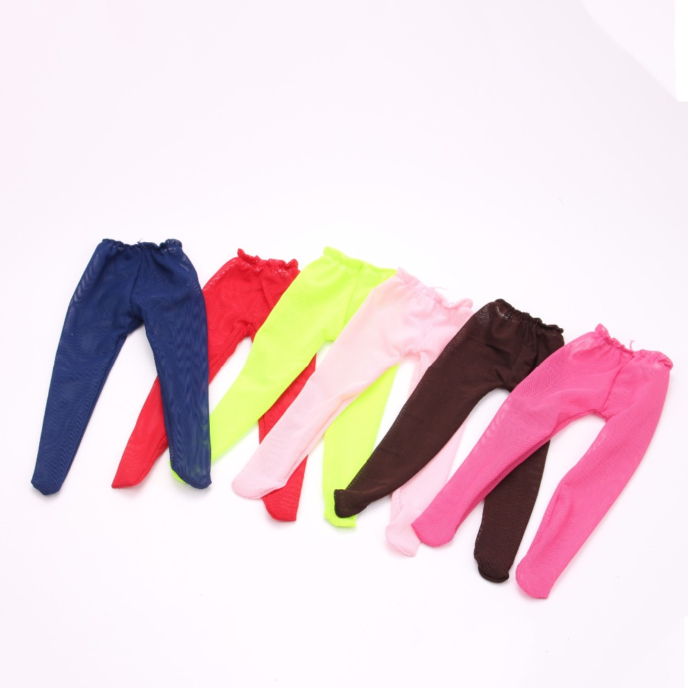 Multi Colors Fashion American Girl Doll Clothes Leggings of Silky Stockings for 18 Ameri ...