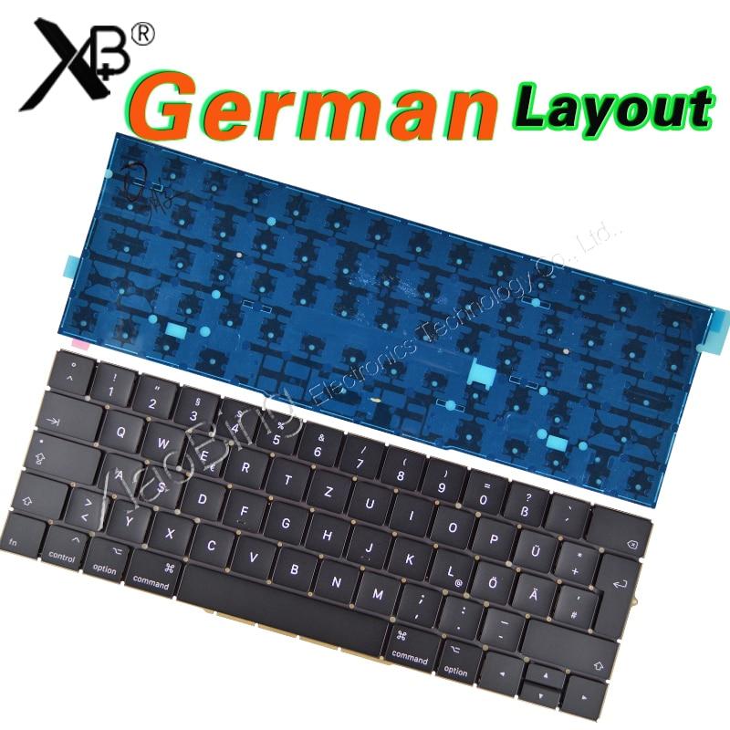 New A1707 Germany GR EU EURO for MacBook Pro 15 Retina A1707 German Keyboard DE Deutsch QWERTZ Tastatur Backlight Backlit backlit keyboard for msi ge60 ge70 gx60 gx70 gt60 gt70 gt780 gt783 ms 1762 german gr de neu qwertz deutsch deutsche tastatur