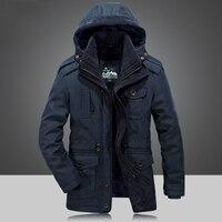 3feae261b0d Winter Jacket Men Parkas Top Warm Waterproof Big Size 2018 Thicken Male  Heavy High Quality Fleece