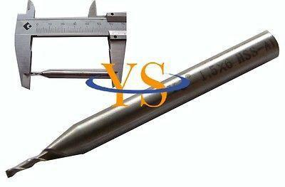 Купить с кэшбэком 10pcs 2 Flute 1MM X 4MM Shank HSS End Milling Cutter CNC Milling Lathe