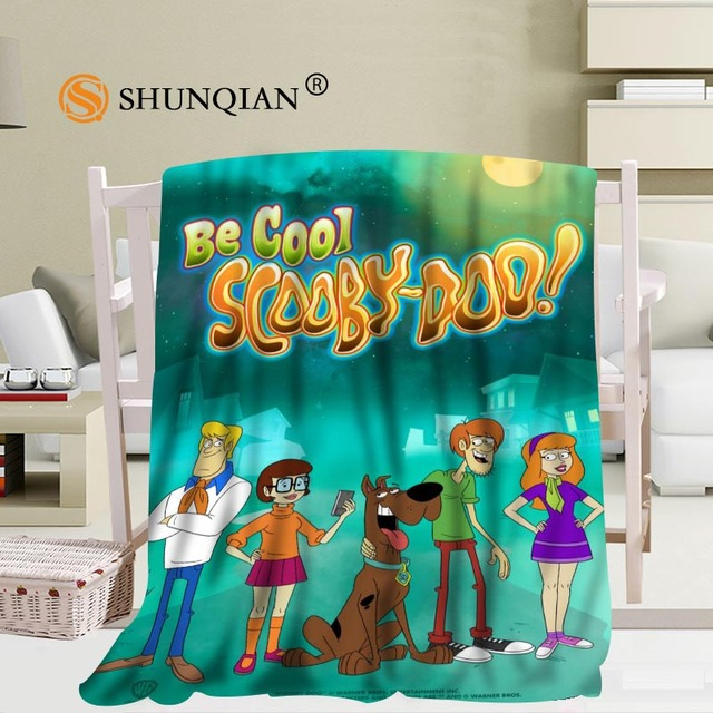 Charmant Custom Scooby Doo Blanket Soft Fleece DIY Your Picture Decoration Bedroom  Size 58x80Inch,50X60Inch,