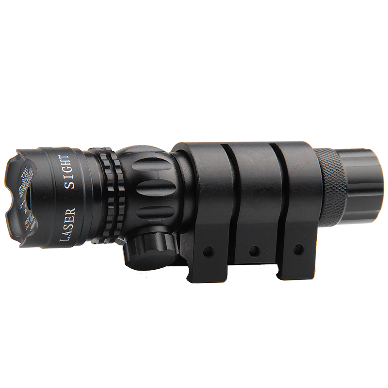 Adjustable Green Laser Sight With Mount & Remote Pressure Switch 3-1G-15