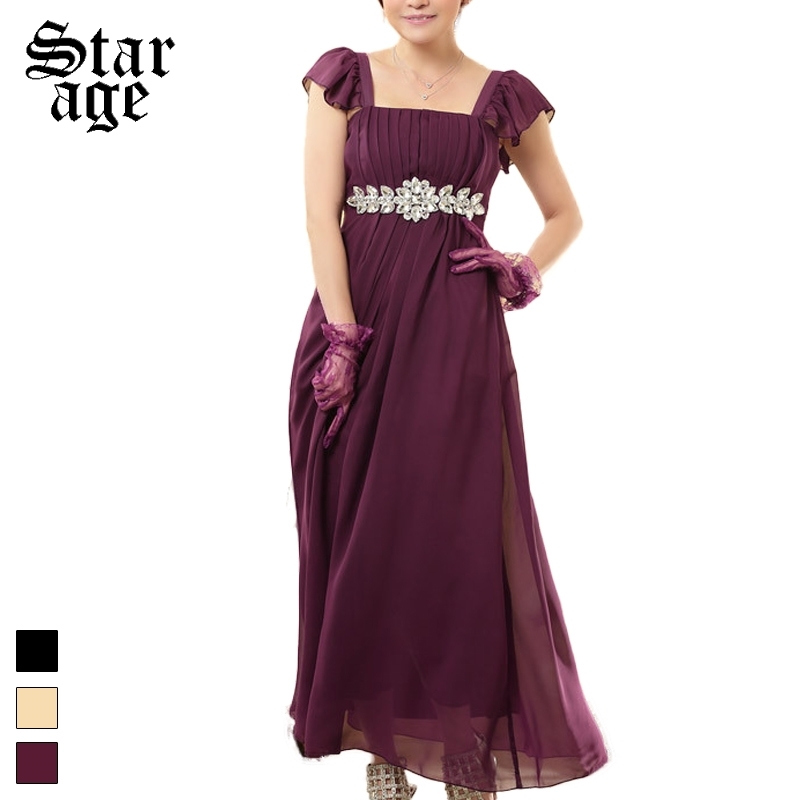 94911c69dc M-XXXL Diamond Beads Maxi Long Formal Dress Plus Size Women Chiffon Ankle  Length Sundress For Birthday/Ball/Banquet 9802