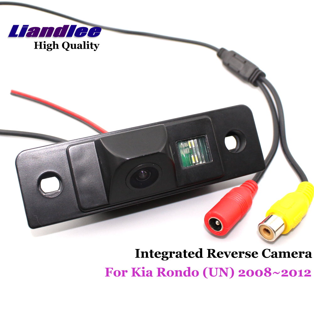 Liandlee Car Rear View Camera For Kia Rondo UN 2008 2012 Rearview Reverse Parking Backup Camera Integrated SONY HD CCD in Vehicle Camera from Automobiles Motorcycles