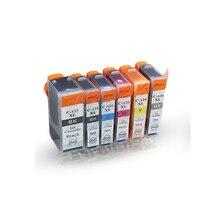 6pcs Luocai PGI425 CLI426  ink cartridge for Canon mg5340 iP4840 4940 MG5140 MG5240 MG6140 MG8140 iX6540 MX884 PRINTER INK