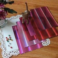 KSCRAFT A4 цветовые оттенки голографическая ягодные оттенки 250GSM