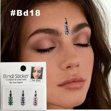 BD18 Festival Style Rhinestone Gem Bindi Tattoo Body Jewelry Bindis