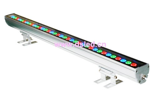 Фотография IP65,CE,good quality, high power 36W Linear RGB LED wall washer,Linear 36W RGB LED wash light,24*1W,24VDC,DS-T11-100cm-24W-RGB,