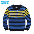2014 boy sweater children's clothing thermal sweater basic shirt