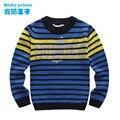2014 niños suéter ropa camisa básica del suéter termal
