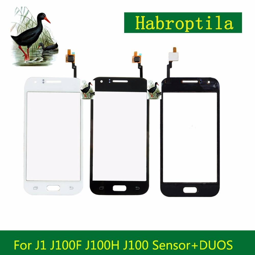 Touch Screen 4.3 For Samsung Galaxy DUOS J1 J100 J100F J100H Sensor Touch Screen Digitizer Outer Front Glass Lens Panel