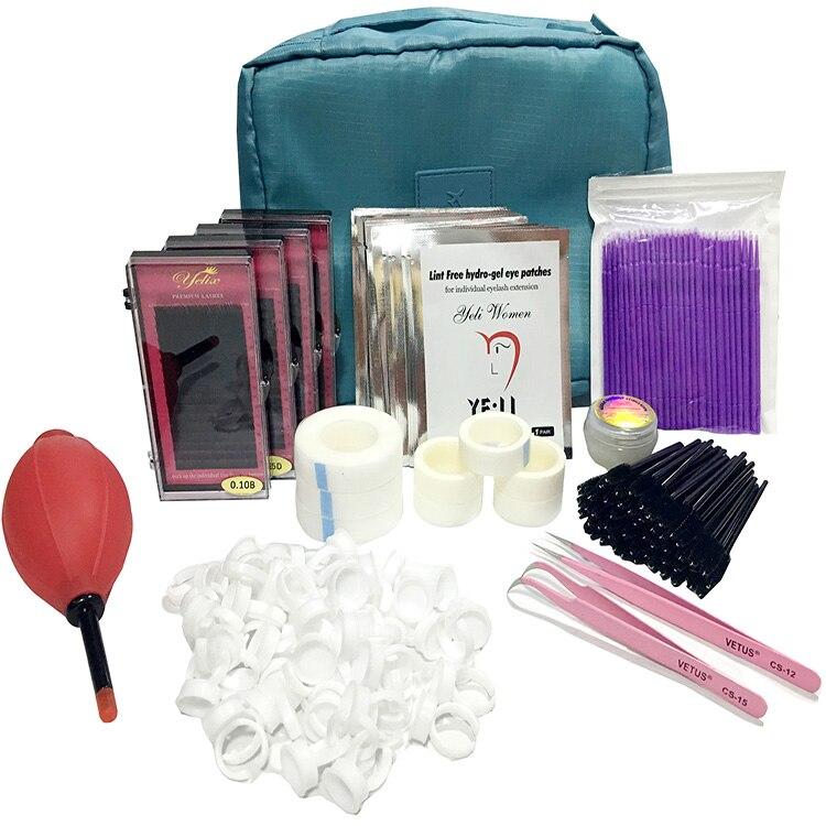 High Cost-Effective Professional Makeup Tools Kits Individual False Eyelash extension Tools Set Eye Lashes Grafting Tools Kit